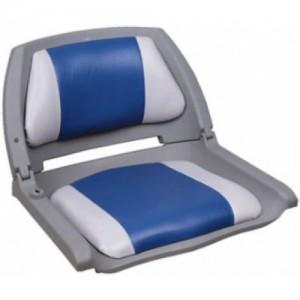 Мягкие накладки на банки,сиденья, Кресло Folding - серый/синий