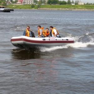 Моторная надувная лодка ПВХ ORION 500