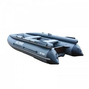 Моторная надувная лодка ПВХ HD 360 НДНД с фальшбортом