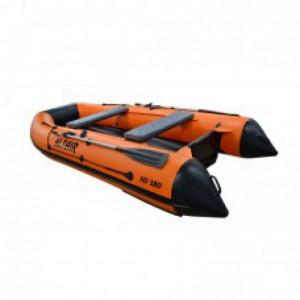 Моторная надувная лодка ПВХ HD 360 НДНД оранж.