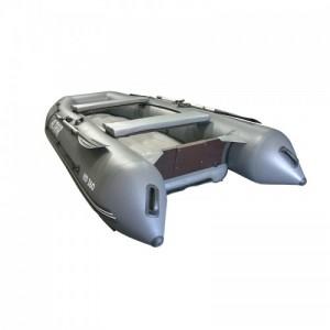 Моторная надувная лодка ПВХ HD 360 НДНД серый